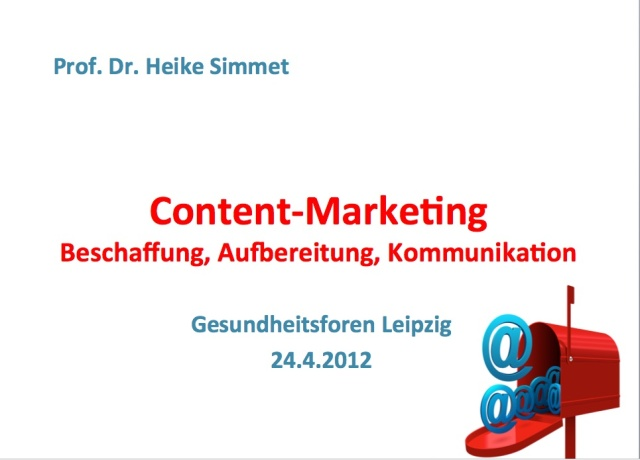 Titelbild Content-Marketing- Beschaffung, Aufbereitung, Kommunikation