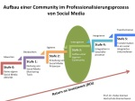 Aufbau einer Community im Professionalisierungsprozess von Social Media