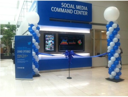 Chase Social Media Command Center