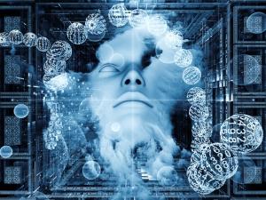 Mensch im Datenmeer