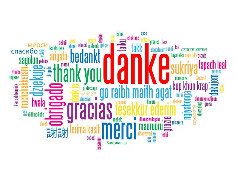 Zum Geburtstag Danke Sagen Dankesspr252che Wunsch Zum